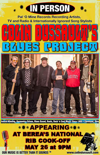 Colin Dussault's Blues Project