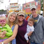 Fox 8's Kristi Capel & Family Catch up with the Rib Chick at the festival on Friday Night.